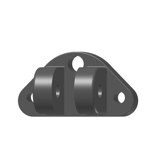 Lenco Compact Upper Mounting Bracket - 2 Screws 1 Wire [50225-001D] - Point Supplies Inc.