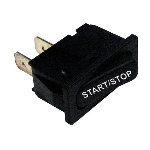 Paneltronics SPDT (ON)-OFF-(ON) Start-Stop Rocker Switch - Momentary Configuration [001-330]-Paneltronics-Point Supplies Inc.