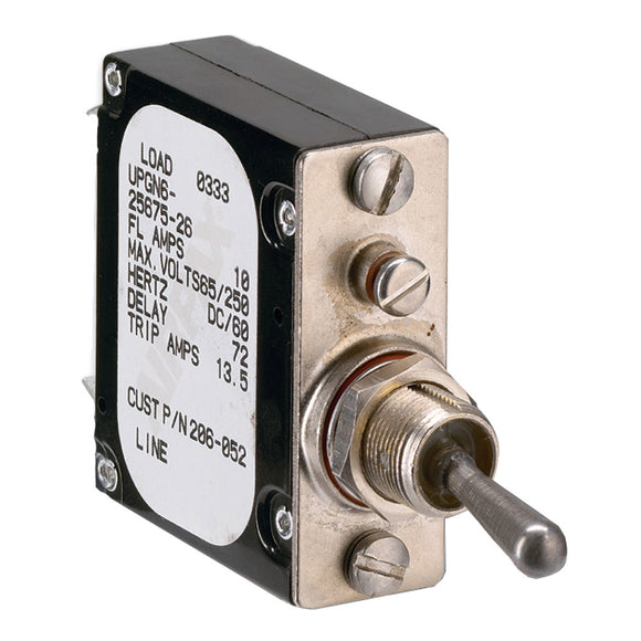 Paneltronics Breaker 10 Amps A-Frame Magnetic Waterproof [206-052S] - Point Supplies Inc.