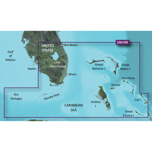 Garmin BlueChart g3 Vision HD - VUS010R - Southeast Florida - microSD-SD [010-C0711-00]-Garmin-Point Supplies Inc.