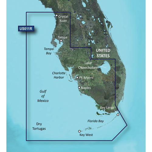 Garmin BlueChart g3 Vision HD - VUS011R - Southwest Florida - microSD-SD [010-C0712-00]-Garmin-Point Supplies Inc.