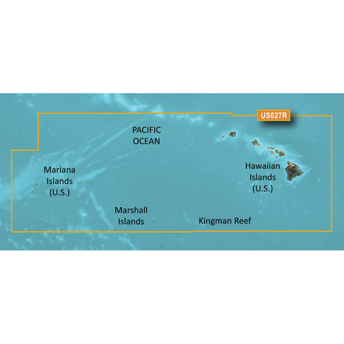 Garmin BlueChart g3 Vision HD - VUS027R - Hawaiian Islands - Mariana Islands - microSD-SD [010-C0728-00]-Garmin-Point Supplies Inc.