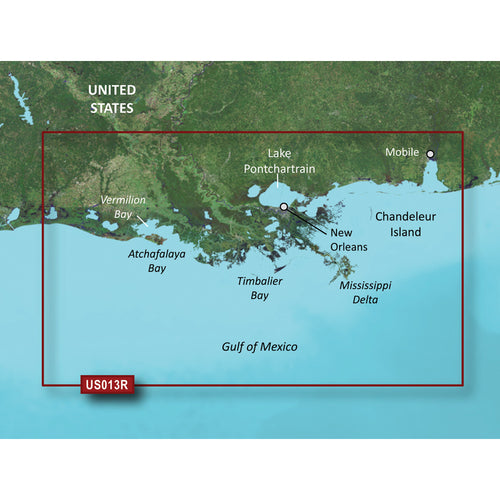 Garmin BlueChart g3 Vision HD - VUS013R - Mobile - Lake Charles - microSD-SD [010-C0714-00]-Garmin-Point Supplies Inc.