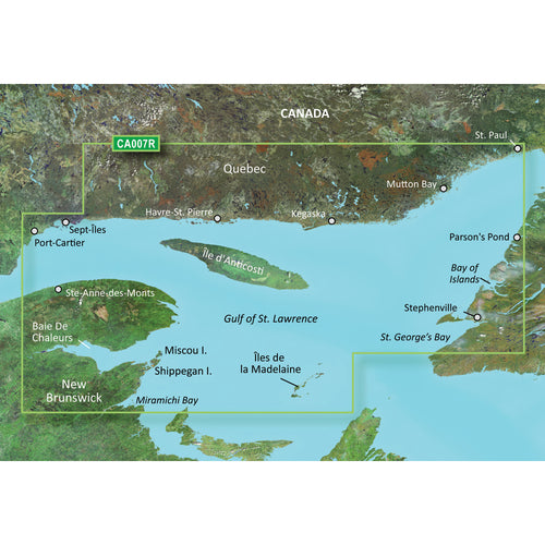 Garmin BlueChart g3 Vision HD - VCA007R - Les Mechins - St. Georges Bay - microSD-SD [010-C0693-00]-Garmin-Point Supplies Inc.