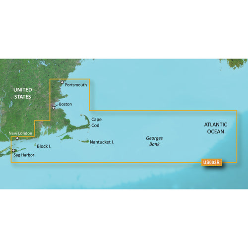 Garmin BlueChart g3 Vision HD - VUS003R - Cape Cod - microSD-SD [010-C0704-00]-Garmin-Point Supplies Inc.
