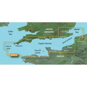 Garmin BlueChart g3 Vision HD - VEU001R - English Channel - microSD/SD [010-C0760-00] - Point Supplies Inc.