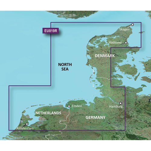 Garmin BlueChart g3 Vision HD - VEU019R - Alborg to Amsterdam - microSD-SD [010-C0776-00] - point-supplies.myshopify.com