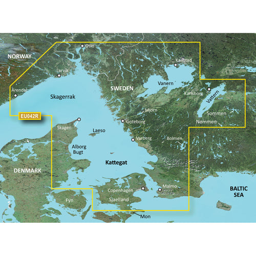 Garmin BlueChart g3 Vision HD - VEU042R - Oslo to Trelleborg - microSD-SD [010-C0779-00] - point-supplies.myshopify.com