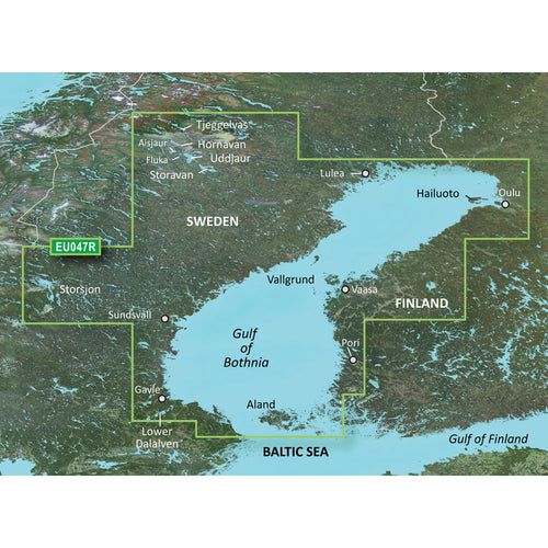 Garmin BlueChart g3 Vision HD - VEU047R - Gulf of Bothnia - Kalix to Grisslehamn - microSD-SD [010-C0783-00] - point-supplies.myshopify.com