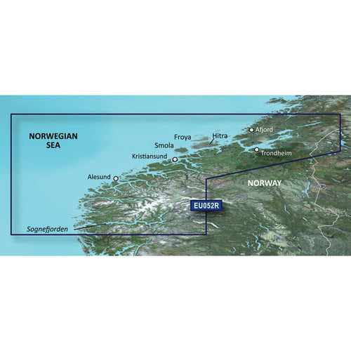 Garmin BlueChart g3 Vision HD - VEU052R - Sognefjorden - Svefjorden - microSD-SD [010-C0788-00] - point-supplies.myshopify.com