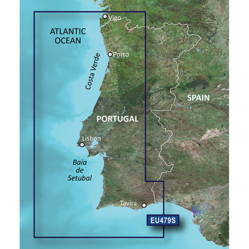 Garmin BlueChart g3 Vision HD - VEU479S - Portugal - microSD-SD [010-C0823-00]-Garmin-Point Supplies Inc.