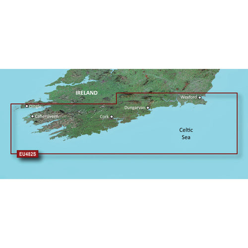 Garmin BlueChart g3 Vision HD - VEU482S - Wexford to Dingle Bay - microSD-SD [010-C0826-00]-Garmin-Point Supplies Inc.