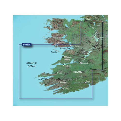 Garmin BlueChart g3 Vision HD - VEU483S - Galway Bay to Cork - microSD-SD [010-C0827-00]-Garmin-Point Supplies Inc.