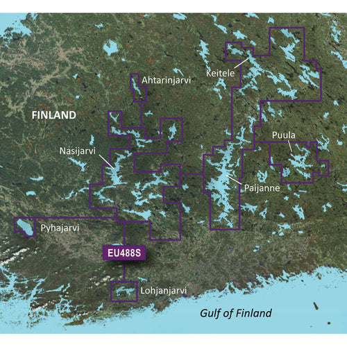 Garmin BlueChart g3 Vision HD - VEU488S - Keitele-Paijanne-Tampere - microSD-SD [010-C0832-00]-Garmin-Point Supplies Inc.