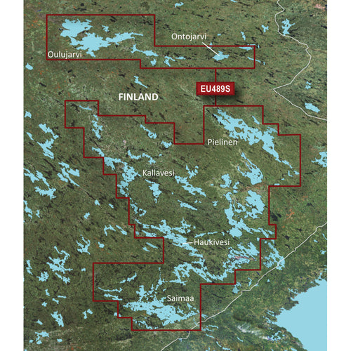 Garmin BlueChart g3 Vision HD - VEU489S - Kupio-Lappeenranta - microSD-SD [010-C0833-00]-Garmin-Point Supplies Inc.