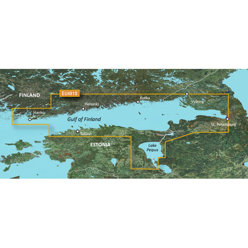 Garmin BlueChart g3 Vision HD - VEU491S - Kotka to Hanko - microSD-SD [010-C0835-00]-Garmin-Point Supplies Inc.