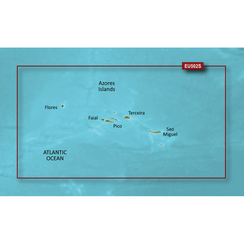Garmin BlueChart g3 Vision HD - VEU502S - Azores Islands - microSD-SD [010-C0846-00]-Garmin-Point Supplies Inc.