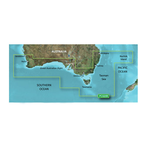 Garmin BlueChart g2 Vision HD - VPC020R - Brisbane SW - Geraldton - microSD-SD [010-C0753-00] - point-supplies.myshopify.com