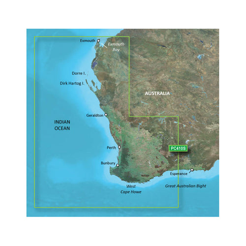 Garmin BlueChart g2 Vision HD - VPC410S - Esperance - Exmouth Bay - microSD-SD [010-C0868-00] - point-supplies.myshopify.com