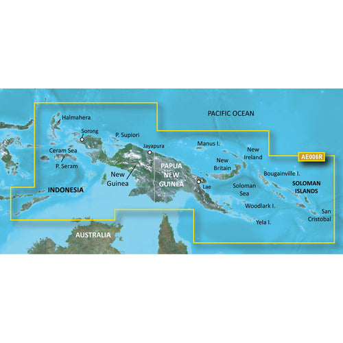 Garmin BlueChart g2 Vision HD - VAE006R - Timor Leste-New Guinea - microSD-SD [010-C0881-00] - point-supplies.myshopify.com