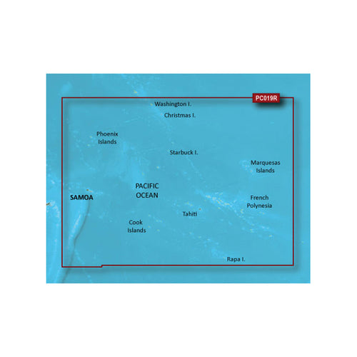 Garmin BlueChart g2 Vision HD - VPC019R - Polynesia - microSD-SD [010-C0866-00] - point-supplies.myshopify.com