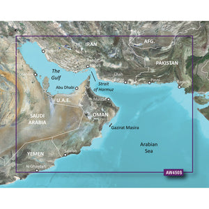 Garmin BlueChart g2 Vision HD - VAW450S - The Gulf - microSD/SD [010-C0758-00] - Point Supplies Inc.