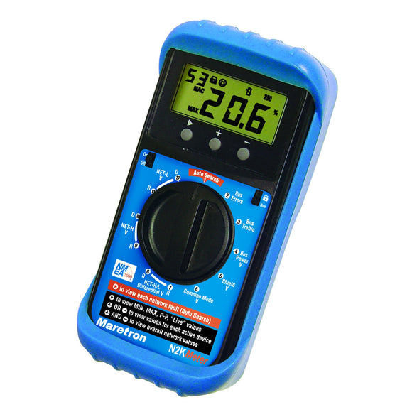 Maretron N2KMeter Diagnostic Tool f/ NMEA 2000 [N2KMETER-01] - Point Supplies Inc.