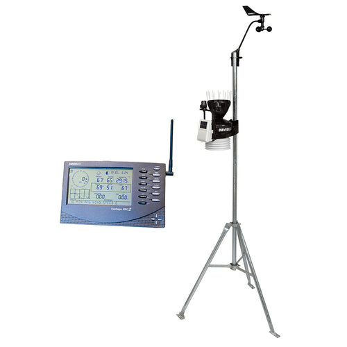 Davis Wireless Vantage Pro2 Plus w-UV & Solar Radiation Sensors [6162]-Davis Instruments-Point Supplies Inc.