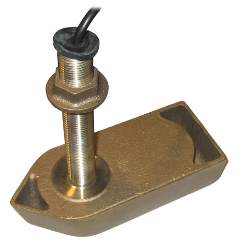 SI-TEX 307-50-200T-CX Thru-Hull Transducer f-SVS-650, CVS-126 & CVS-128 [307-50-200T-CX] - point-supplies.myshopify.com