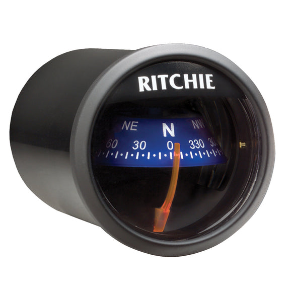 Ritchie X-21BU RitchieSport Compass - Dash Mount - Black/Blue [X-21BU] - Point Supplies Inc.