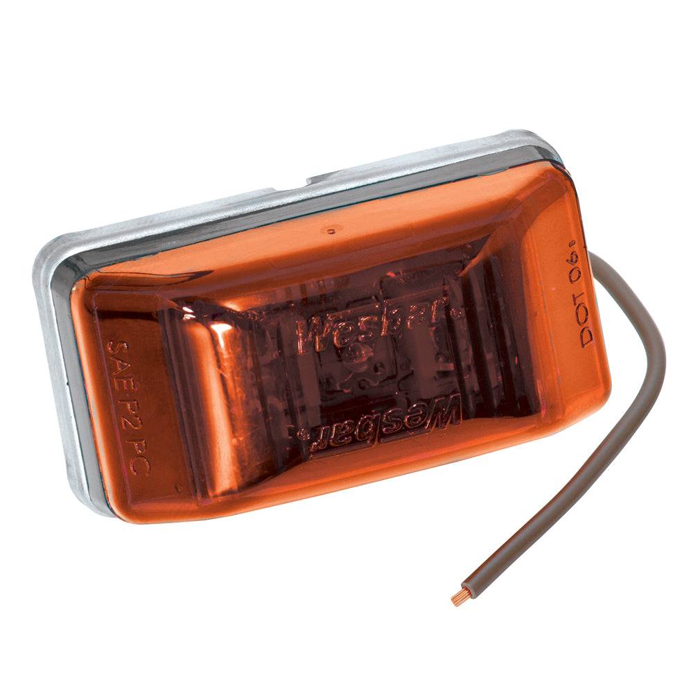 Wesbar LED Clearance-Side Marker Light #99 Series - Amber [401565]-Wesbar-Point Supplies Inc.