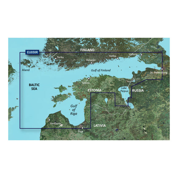Garmin BlueChart g3 HD - HXEU050R - Aland to Vybord - microSD/SD [010-C0786-20] - Point Supplies Inc.