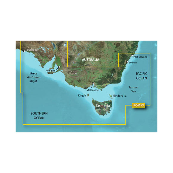 Garmin BlueChart g2 HD - HXPC415S - Port Stephens - Fowlers Bay - microSD/SD [010-C0873-20] - Point Supplies Inc.