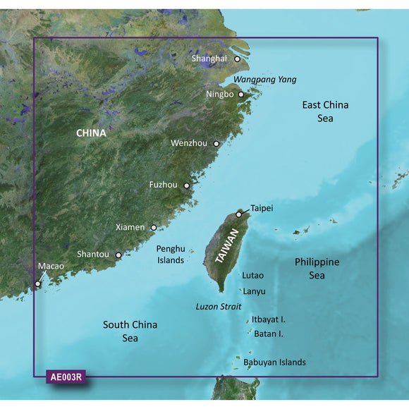 Garmin BlueChart g2 HD - HXAE003R - Taiwan - microSD/SD [010-C0878-20] - Point Supplies Inc.