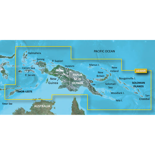 Garmin BlueChart g2 HD - HXAE006R - Timor Leste-New Guinea - microSD-SD [010-C0881-20]-Garmin-Point Supplies Inc.