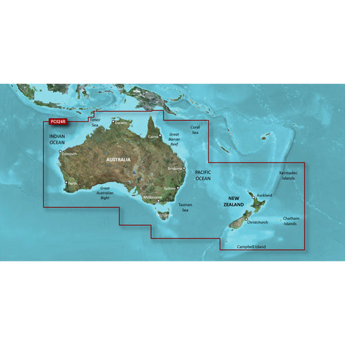 Garmin BlueChart g2 HD - HXPC024R - Australia & New Zealand - microSD-SD [010-C1020-20]-Garmin-Point Supplies Inc.