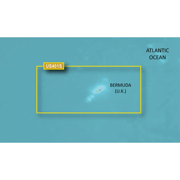 Garmin BlueChart g3 HD - HUS048R - Bermuda - microSD/SD [010-C1024-20] - Point Supplies Inc.