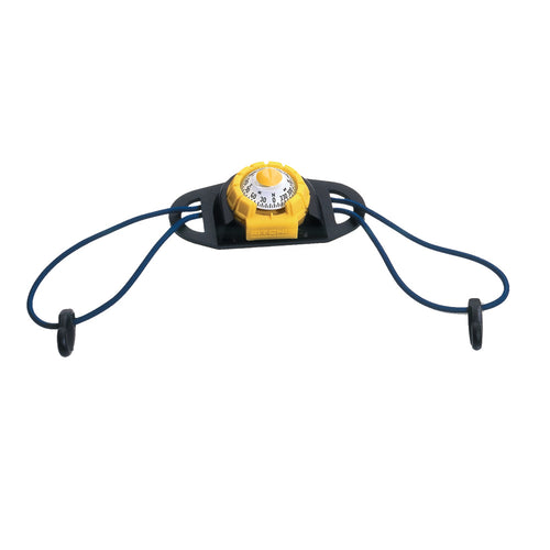 Ritchie X-11Y-TD SportAbout Compass w-Kayak Tie-Down Holder - Yellow-Black [X-11Y-TD] - point-supplies.myshopify.com