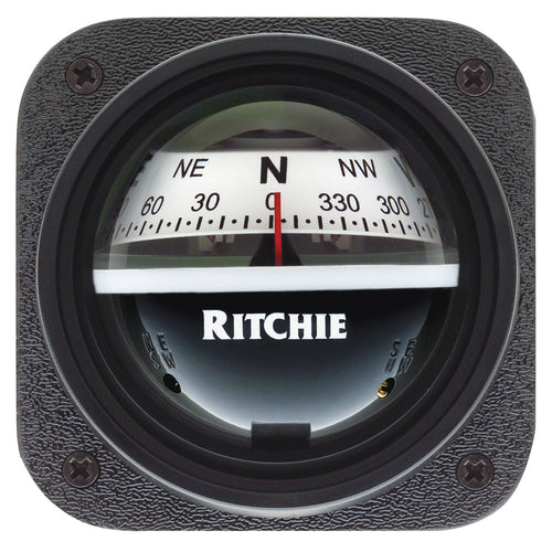 Ritchie V-527 Kayak Compass - Bulkhead Mount - White Dial [V-527]-Ritchie-Point Supplies Inc.