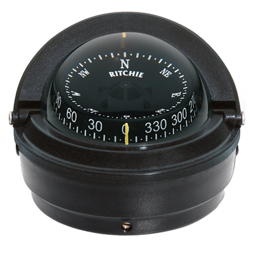 Ritchie S-87 Voyager Compass - Surface Mount - Black [S-87] - point-supplies.myshopify.com