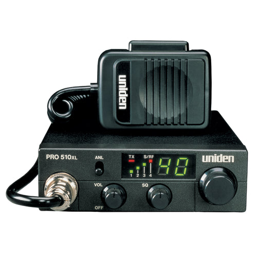 Uniden PRO510XL CB Radio w-7W Audio Output [PRO510XL]-Uniden-Point Supplies Inc.