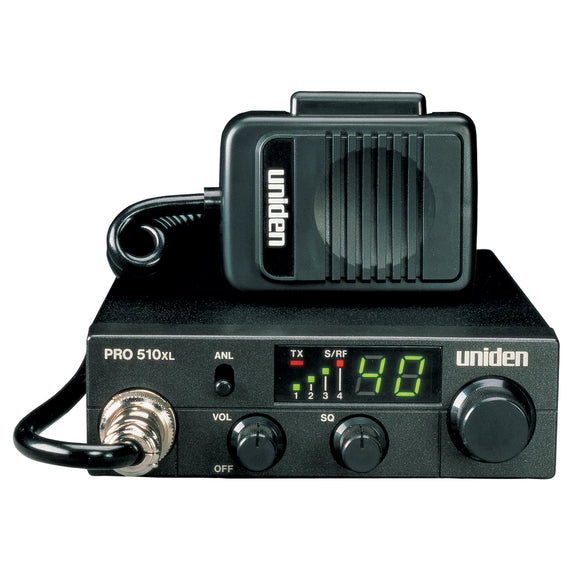 Uniden PRO510XL CB Radio w/7W Audio Output [PRO510XL] - Point Supplies Inc.