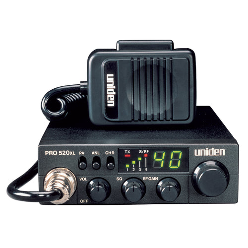 Uniden PRO520XL CB Radio w-7W Audio Output [PRO520XL]-Uniden-Point Supplies Inc.