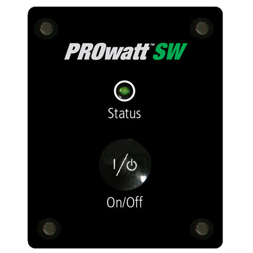 Xantrex Remote Panel w-25' Cable f-ProWatt SW Inverter [808-9001] - point-supplies.myshopify.com