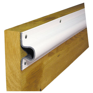 "Dock Edge ""C"" Guard Economy PVC Profiles 10ft Roll - White [1132-F] - Point Supplies Inc."