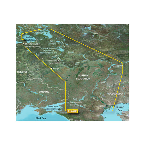 Garmin BlueChart g3 HD - HXEU062R - Russian Inland Waterways - microSD-SD [010-C1048-20] - point-supplies.myshopify.com