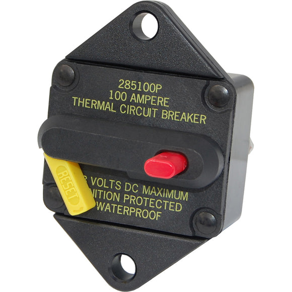 Blue Sea 7080 25 Amp Circuit Breaker Panel Mount 285 Series [7080] - Point Supplies Inc.