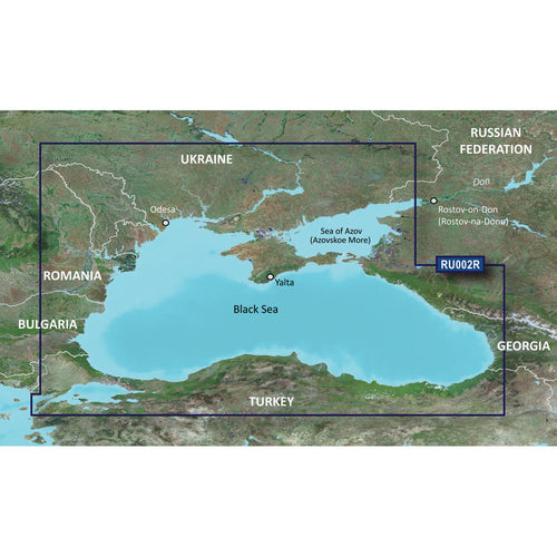 Garmin BlueChart g3 HD - HXRU002R - Black Sea  Azov Sea - microSD-SD [010-C1064-20] - point-supplies.myshopify.com