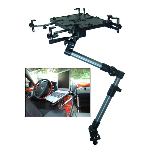 Bracketron Mobotron Universal Vehicle Laptop Mount [LTM-MS-525]-Bracketron Inc-Point Supplies Inc.
