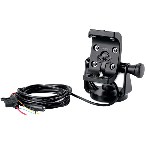 Garmin Marine Mount w-Power Cable & Screen Protectors f-Montana Series [010-11654-06] - point-supplies.myshopify.com